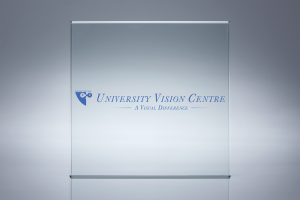 University Vision Centre - Logo Display